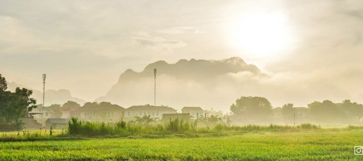 The foggy morning in my hometown Thanh Hoa parralax cover