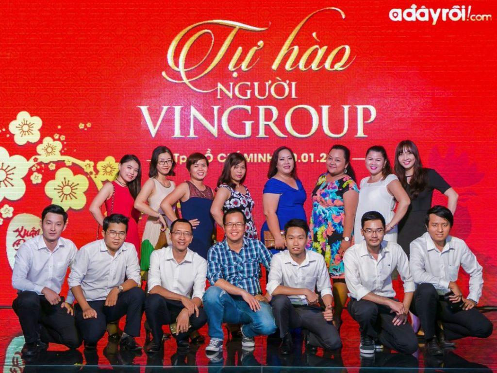 Tiệc mừng sinh nhật tập đoàn Vingroup 2017