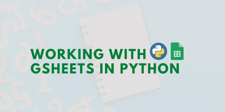 google sheet python