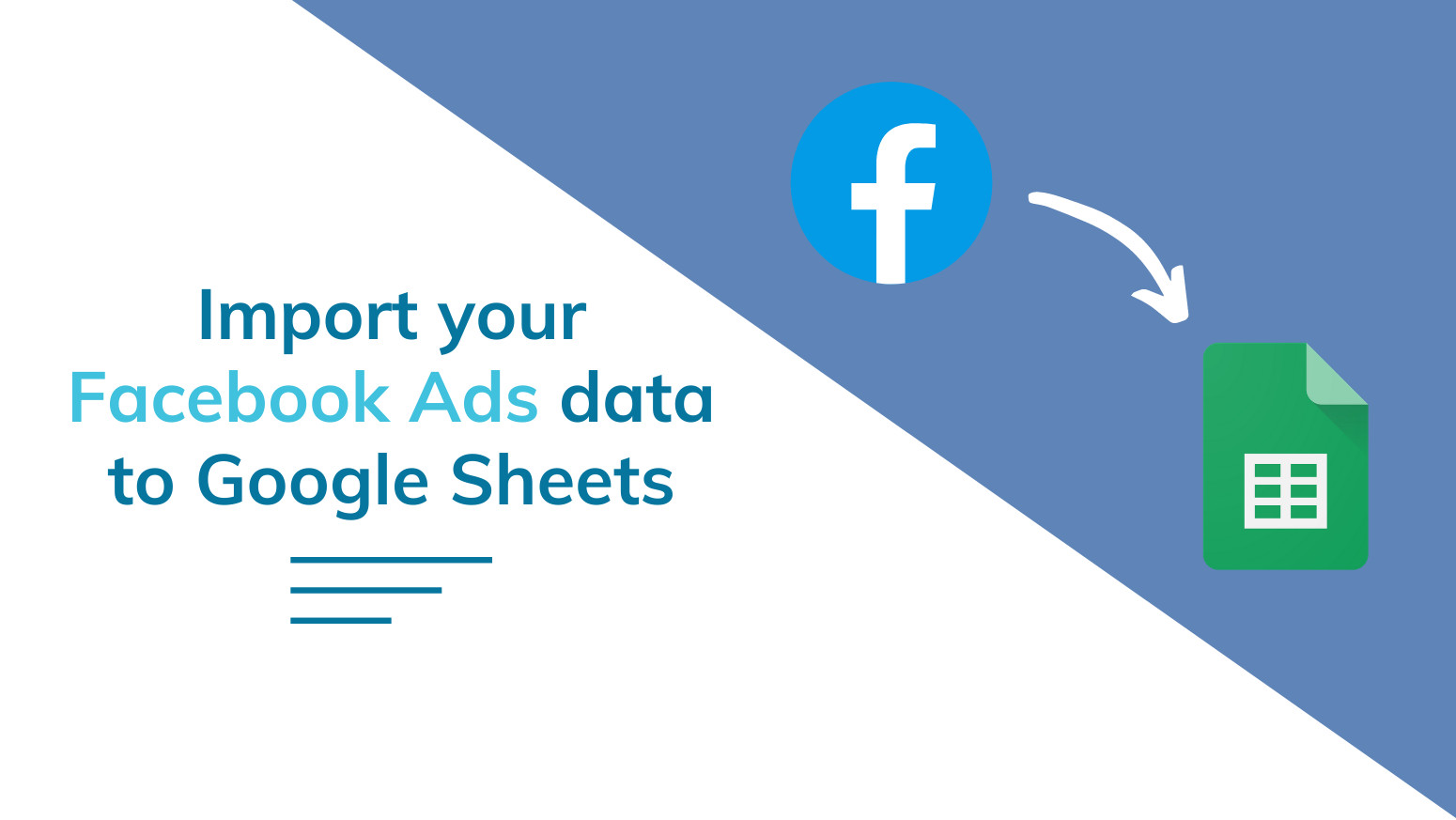 automated facebook ads report to google sheets 2